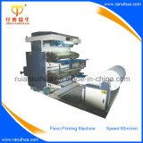 PLC Control haute vitesse 4 couleurs Flexo Paper Printing Machine