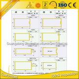La fábrica suministra la pared de cortina de cristal del aluminio 6063 6463
