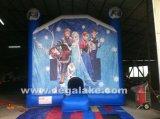 Bouncer de salto congelado inflável, castelo Bouncy