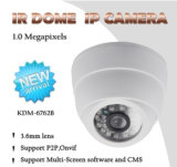 Câmara On-line Onvif P2p Plastic IR Dome IP