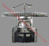 高速二重ジャージーによってコンピュータ化されるジャカード円の編む機械装置(YD-DJC4)
