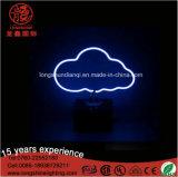 Lumière de Tableau de signe au néon d'ananas de nuages de DEL 50cm 220V 12V pour le bureau