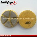 Tampón para pulir de cerámica del diamante para el pulido seco concreto