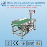 Máquina del pesador de la verificación del acero inoxidable para los rectángulos/los bolsos pesados