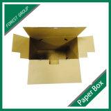 Fabricante al por mayor de la caja de cartón acanalado de la cartulina