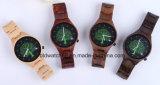 Роскошь 2017 подгоняла деревянный логос таможни Wristwatch вахты