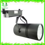 黒いカラークリー族チップ30W Ra>90穂軸LEDトラックライト