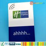 cartão chave EV1 RFID do hotel clássico de 13.56MHz ISO14443A MIFARE