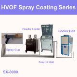 Equipo duro de la máquina del sistema de aerosol de las capas de Hvof