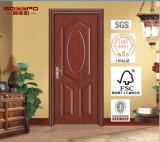 Porta de madeira do MDF da melamina da Livre-Pintura (GSP12-008)