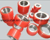 オイル抵抗力がある産業PUポリウレタンコーティングのローラーの車輪の置換
