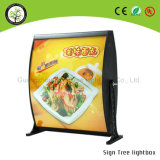 LED 메뉴 널 가벼운 상자를 광고하는 주문품 대중음식점