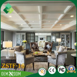 Modernes natürliches Art-Rosenholz-Hotel-Möbel-Schlafzimmer-Set (ZSTF-16)
