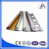 Garniture faisante le coin en aluminium anodisée de tuile