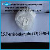 T3 del sodio de Liothyronine de los esteroides anabólicos de la pérdida de peso