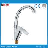 Faucet de bronze montado plataforma da cozinha do dissipador do único punho (H01-203S-BIG)