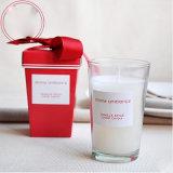 Reines Sojabohnenöl-Wachs-duftende Glasglas-Kerzen