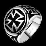 O anel de aço Titanium dos homens novo Deign jóia especial dos homens do projeto do anel dos homens da forma