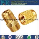 China-Hersteller-niedrige Kosten CNC-maschinell bearbeitender Messinglampen-Halter