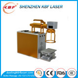 Mini métal et non-métal portatifs de la machine une d'inscription de laser de fibre à vendre