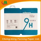 Caisse d'emballage faite sur commande de PVC de papier de carton avec le guichet de PVC