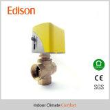 Válvula de control eléctrica de cobre amarillo para el sistema de la bobina del ventilador (KLV)