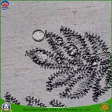 Hauptgewebe, das wasserdichtes Franc gesponnenes gemischtes Polyester-Vorhang-Gewebe beschichtet