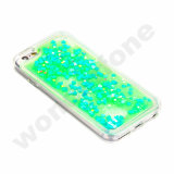 Bling Sparkle Glitter Stars Dynamic Liquid Quicksand Clear Hard Fall für iPhone