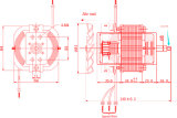 가정 응용을%s 76 높은 Efficency 보편적인 모터