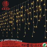 Sincelo da decoração do diodo emissor de luz/luz Natal ao ar livre da cortina para o Ce RoHS do feriado