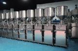 半自動温度のクリームの必要な液体の充填機