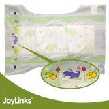 Устранимые пеленки младенца с пленкой PE и волшебной лентой