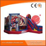 Spätester Spiderman aufblasbares kombiniertes springendes Boucer mit Plättchen T3-311