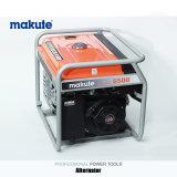 Makuteの高品質力5.5kwディーゼルガソリン発電機