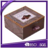 Embalaje profesional Caja de regalo Caja de regalo de chocolate estilo cajón