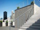 Pasamano al aire libre de la escalera del acero inoxidable 316 de la alta calidad para la barandilla de la escalera