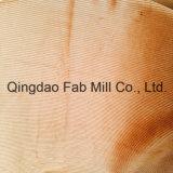 8 tela de la pana del algodón de País de Gales 100%Organic para los pantalones etc. (QF16-2670)