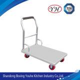 Chariot multiple à plate-forme d'acier inoxydable de qualité