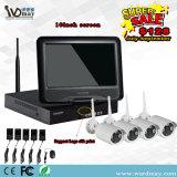 Jogos da tela NVR de 10 polegadas + sistemas sem fio do CCTV 1.3MP