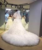 豪華な王女夜会服デザイン花嫁のウェディングドレス
