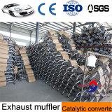 Silencieux d'échappement de véhicule de fabrication de Chinois avec l'acier inoxydable 409
