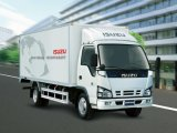 Isuzu 600p는 줄 가벼운 밴 트럭 (Nkr77lleacax1를 골라낸다