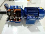 Motor engrenado helicoidal Inline da série de R para a máquina de embalagem