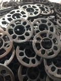Розетка вспомогательного оборудования лесов системы Ringlock стальная с разным видом