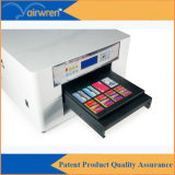Digital des Hochgeschwindigkeitsuvflachbettdrucker-A3 UVbelüftung-Karten-Drucken-Maschine mit niedrigem Preis