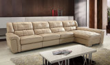 Le sofa neuf de cuir de salle de séjour de modèle de meubles à la maison a placé (HC3030)