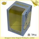 Schöne Form-kundenspezifischer verpackenfarben-Kasten mit Fenster-Kasten