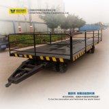 Fábrica Using o reboque Flatbed de transferência para o transporte