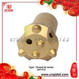 φ strumenti Drilling della roccia dell'utensile a inserti di 65-R32 Retrac per Mingning/l'utensile a inserti del filetto