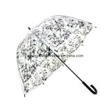 투명한 무지개 색깔 우산, Environment-Friendly 물자